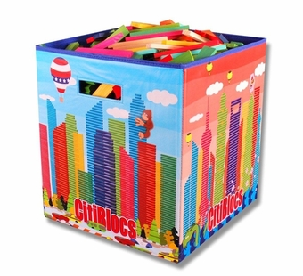 Citiblocs <br />500 Piece Multicolor Building Set with Storage Bin