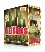 Citiblocs <br />Camo pieces Building Block Set