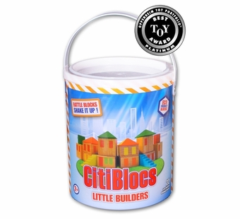 Citiblocs <br />Little Builders Building Block Set