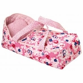 Corolle Dolls <br />Floral Carry Bed