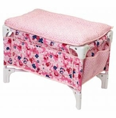 Corolle Dolls <br />Floral Crib & Table