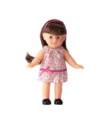 "Corolle Dolls <br />Mini Caroline Brunette 8"" Doll"