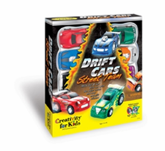Creativity for Kids <br />Drift Cars Art Kit