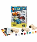 Creativity for Kids <br />Fast Race Cars Art Kit