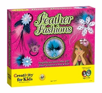 Creativity for Kids <br />Feather Fashions Art Kit