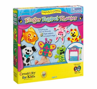 Creativity for Kids <br />Make Your Own Finger Puppet Theater