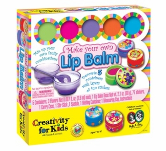 Creativity for Kids <br />Make Your Own Lip Balm