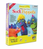 Creativity for Kids <br />Make Your Own Sock Puppets Kit