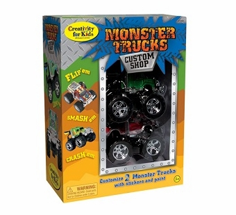 Creativity for Kids <br />Monster Trucks Art Kit
