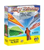 Creativity for Kids <br />Skydiver Paper Airplanes Kit