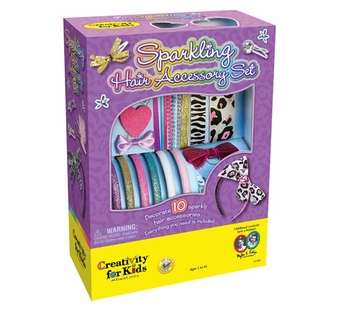 Creativity for Kids <br />Sparkling Hair Accessory Kit