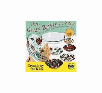 Creativity for Kids <br />Two Glass Bowls Art Kit