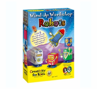 Creativity for Kids <br />Wind Up Workshop Robots