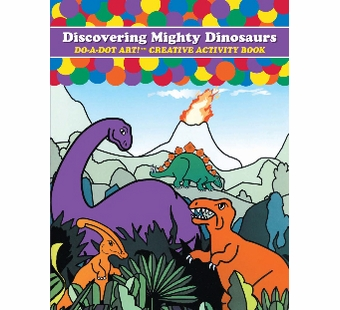 Do-A-Dot Art <br />Mighty Dinosaurs Activity Book