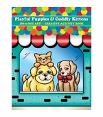 Do-A-Dot Art <br />Playful Puppies & Cuddly Kittens Activity Book