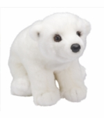 "Douglas Cuddle Toys <br />Aput Polar Bear 11"" Stuffed Animal"