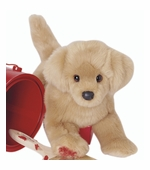 "Douglas Cuddle Toys <br />Bella Golden Retriever Dog 16"" Stuffed Animal"