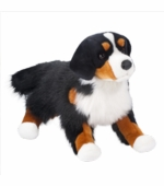 "Douglas Cuddle Toys <br />Bernese Mountain Dog Dog 24"" Stuffed Animal"