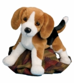 "Douglas Cuddle Toys <br />Bernie Beagle Dog 14"" Stuffed Animal"