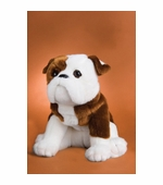 "Douglas Cuddle Toys <br />Bulldog Dog 16"" Stuffed Animal"