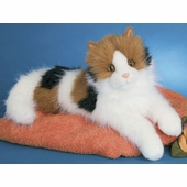 "Douglas Cuddle Toys <br />Calico Puzzle Cat 19"" Stuffed Animal"