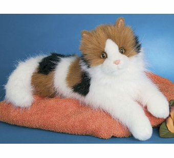 Douglas Cuddle Toys <br />Calico Puzzle Cat 19
