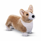 "Douglas Cuddle Toys <br />Chadwick Corgi Dog 16"" Stuffed Animal"