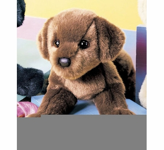 Douglas Cuddle Toys <br />Cocoa Chocolate Lab Dog 16