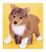 "Douglas Cuddle Toys <br />Collie Dog 16"" Stuffed Animal"