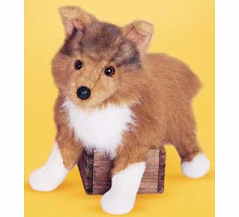 Douglas Cuddle Toys <br />Collie Dog 16