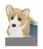 "Douglas Cuddle Toys <br />Corgi Dog 14"" Stuffed Animal"