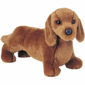 "Douglas Cuddle Toys <br />Dachshund Dog 12"" Stuffed Animal"