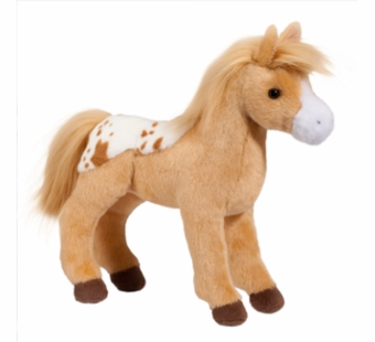Douglas Cuddle Toys <br />Diana Golden Blanket Appaloosa Horse Stuffed Animal