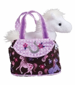 Douglas Cuddle Toys <br />Dress Up Purse Pink Filly