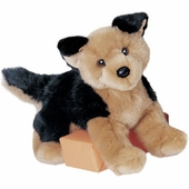 "Douglas Cuddle Toys <br />German Shepherd Dog 12"" Stuffed Animal"