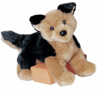 Douglas Cuddle Toys <br />German Shepherd Dog 12