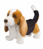 Douglas Cuddle Toys <br />Harold Basset Hound Stuffed Animal