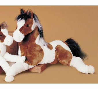 Douglas Cuddle Toys <br />Indian Paint Natches Horse 27