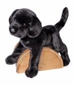 Douglas Cuddle Toys <br />James Black Lab Stuffed Animal