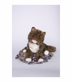 "Douglas Cuddle Toys <br />Maine Coon Davey Cat 16"" Stuffed Animal"
