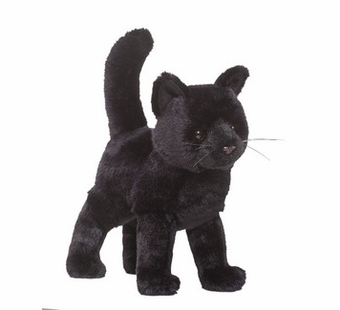 Douglas Cuddle Toys <br />Midnight Cat 12