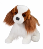 "Douglas Cuddle Toys <br />Regal King Charles Cavalier Dog 16"" Stuffed Animal"