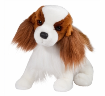 Douglas Cuddle Toys <br />Regal King Charles Cavalier Dog 16