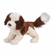 "Douglas Cuddle Toys <br />Rocky Labradoodle Dog 16"" Stuffed Animal"