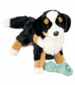 "Douglas Cuddle Toys <br />Trevor Bernese Mountain Dog Dog 16"" Stuffed Animal"
