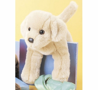 Douglas Cuddle Toys <br />Yellow Lab Dog 12