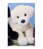 "Douglas Cuddle Toys <br />Yellow Labrador Dog 16"" Stuffed Animal"
