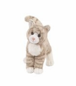 "Douglas Cuddle Toys <br />Zipper Cat Animal 12"" Stuffed Animal"