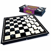 Educational Insights <br />Magnetic Checkers Travel Game