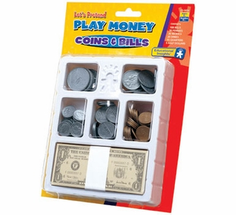 Educational Insights <br />Play Money Coin & Bills